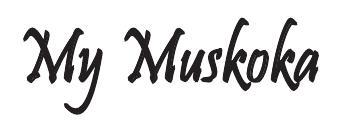 Muskoka is a beautiful place to unwind and create