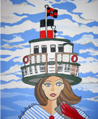 Marilyn Brooks Special 'Painted Ladies' Collection at the Muskoka Boat & Heritage Centre