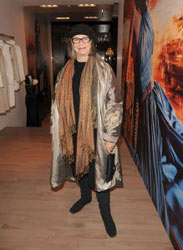 Marilyn Brooks at the new Andy Thê-Anh Yorkville boutique