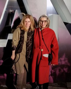 Sheila Schirmer and Marilyn Brooks at Toronto Fashion Week Fall 2016