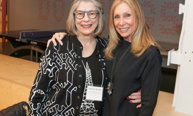 Power breakfast for a power player: FGI Presented Fashion Visionary Award to Barbara Atkin