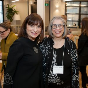 Jeanne Beker and Marilyn Brooks