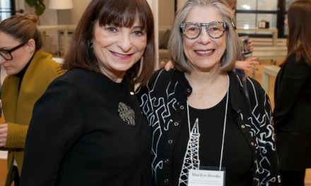 Jeanne Beker and Marilyn Brooks at FGI event