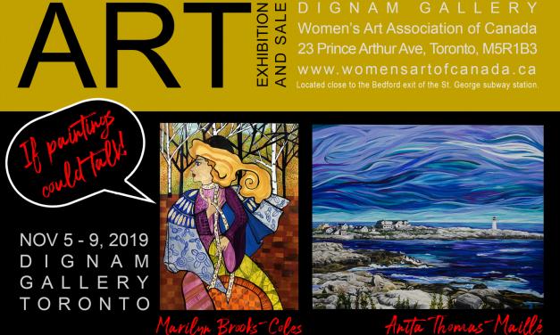 Exhibition & Art Sale Nov 5 – 9